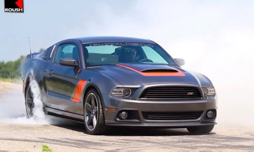 2014 Roush Mustang Stage 3 kit tested with 1min burnout