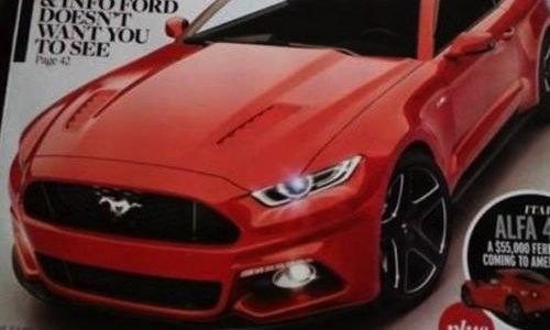 2015 Ford Mustang revealed on magazine cover?