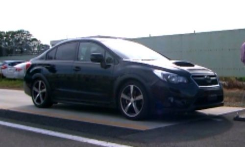 New 2014 Subaru WRX revealed in safety tech video