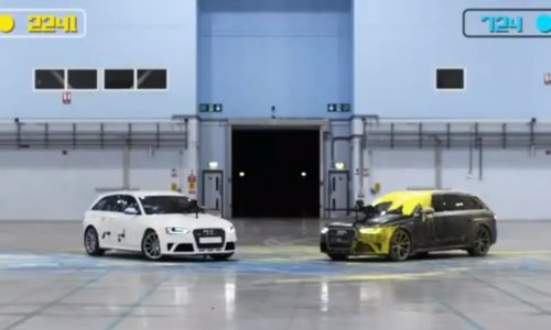Audi RS 4 – the 'Paintball Duel'