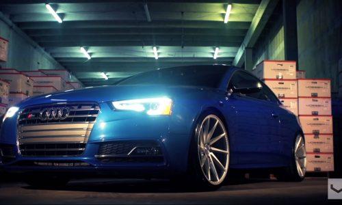 Audi S5 looks boss on Vossen CVT wheels