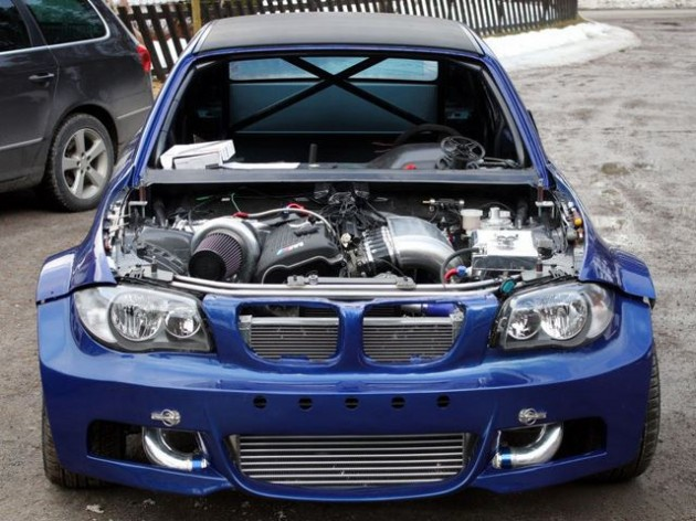 BMW 1 Series with M3 3.2 turbo-front