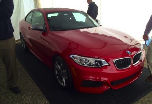 BMW M235i spotted
