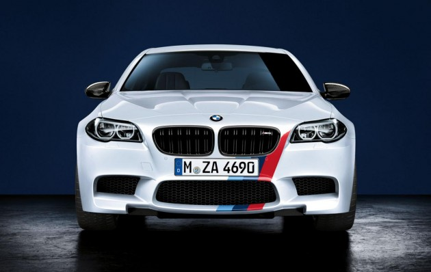 BMW M5 M Performance accessories-front spoiler