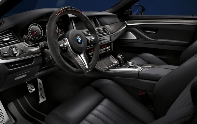 BMW M5 M Performance accessories-interior