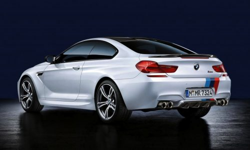 BMW M Performance accessories for M5 and M6 revealed