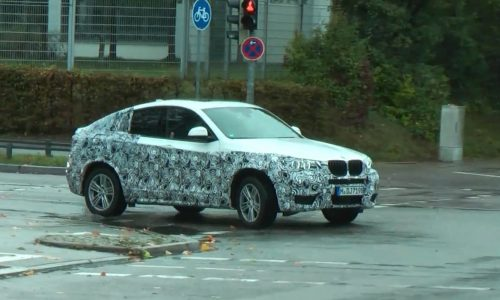 Video: BMW X4 prototype spotted at Nurburgring