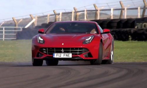 Chris Harris thrashing the epic Ferrari F12