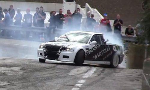 E46 BMW M3 ute goes mad drifting