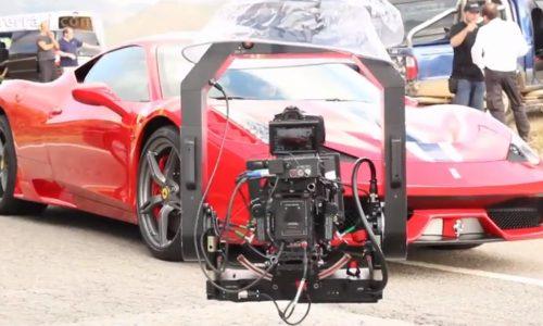 Ferrari 458 Speciale promo –behind the scenes