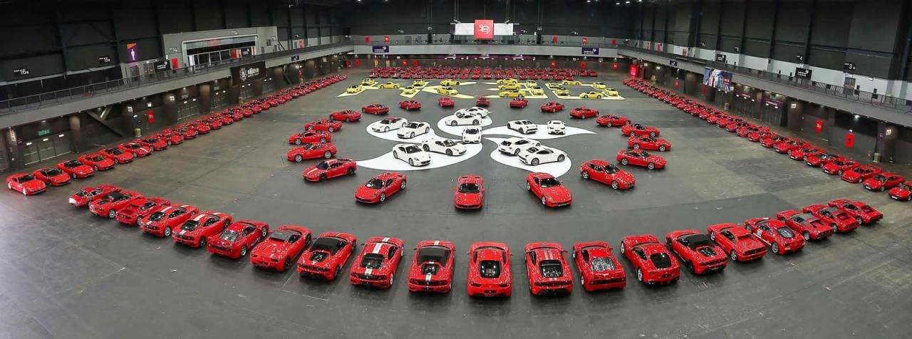 Permalink to Biggest Ferrari Collection