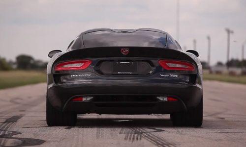 Hennessey Venom 700R sounds wicked, based on SRT Viper