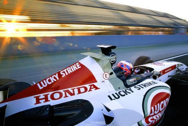 Honda F1 2005-Jenson Button