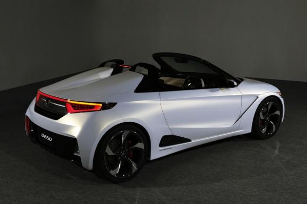 Honda S660 concept-rear