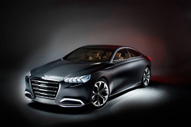 Hyundai Genesis HCD-14 concept
