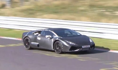 Video: Lamborghini 'Cabrera' spotted testing at Nurburgring