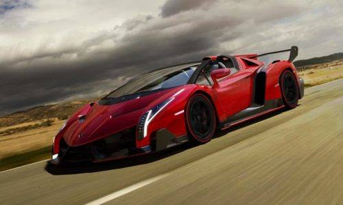 Lamborghini Veneno Roadster; road legal insanity
