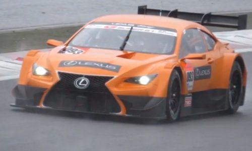 Lexus LF-CC GT500 Super GT racer sounds insane