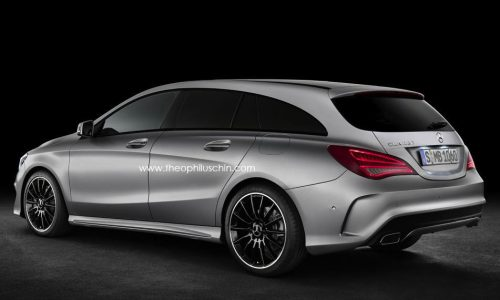Mercedes-Benz CLA Shooting Brake set to arrive by 2015