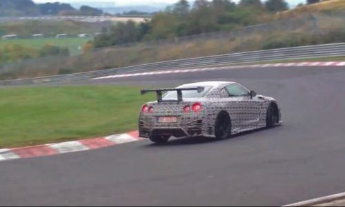 Video: Nismo Nissan GT-R going for the Nurburgring lap record?