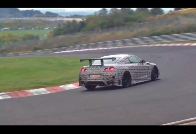 Nismo Nissan GT-R Nurburgring record