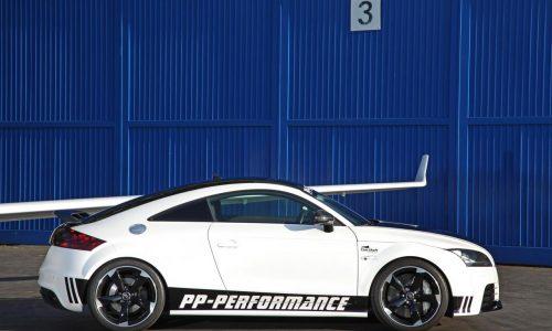 PP-Performance Audi TT RS 'Black & White' kit announced