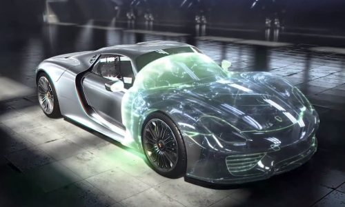Porsche 918 Spyder; engine technology overview