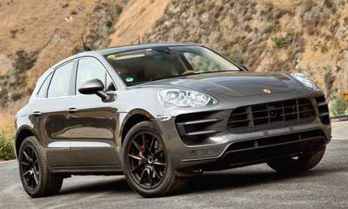 Porsche Macan revealed (almost) in testing images