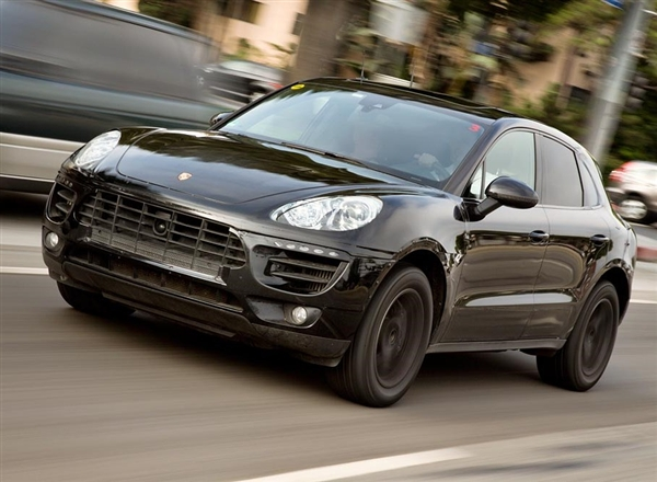 porsche macan revealed   testing images