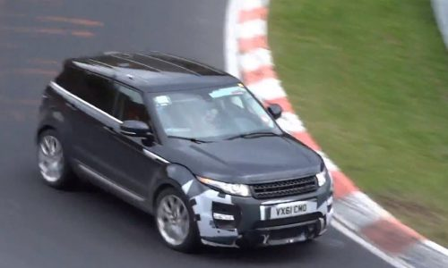 Video: Range Rover Sport & Evoque 'RS' spotted
