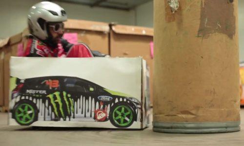 Razor Crazy Cart promo is a cool Ken Block parody