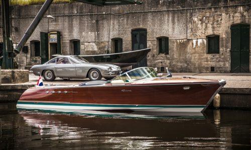 Ferruccio Lamborghini's twin-V12 Riva Aquarama fully restored