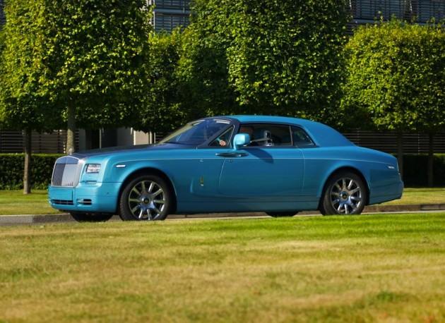 Rolls-Royce Ghasswaa Phantom Coupe-Turchese Blue