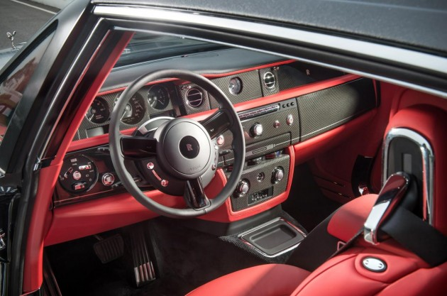 Rolls-Royce Phantom Bespoke Chicane Coupe-interior