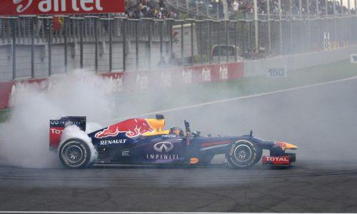 Sebastian Vettel & Red Bull Racing win fourth F1 Championship