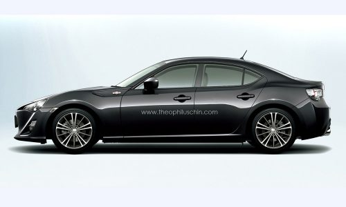 Toyota 86 sedan approved for production – report