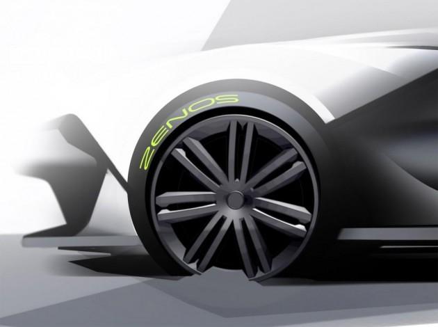 Zenos E10 design sketches-brakes