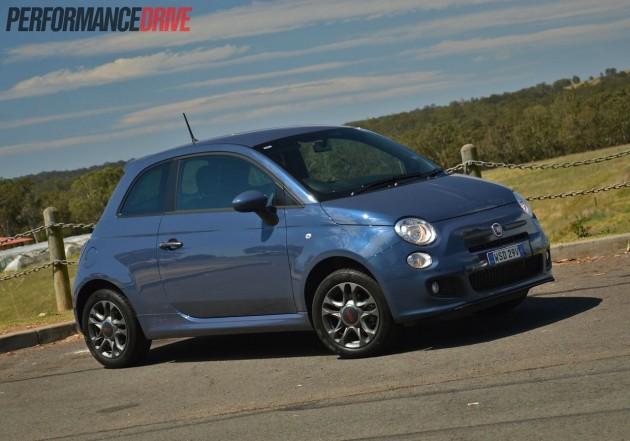 2013 Fiat 500 Sport Mediterranean Blue