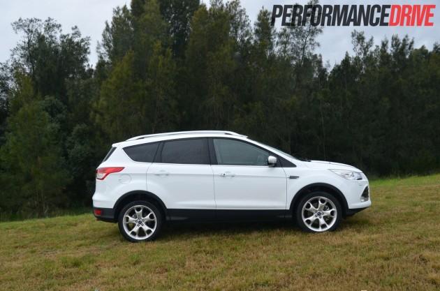 2013 Ford Kuga Titanium side