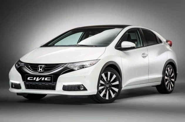 2014 Honda Civic hatch Euro-spec