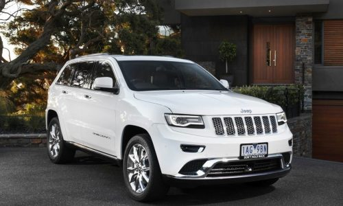Jeep Grand Cherokee 'Summit' edition on sale from $75,000