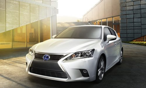 2014 Lexus CT 200h gets updated styling