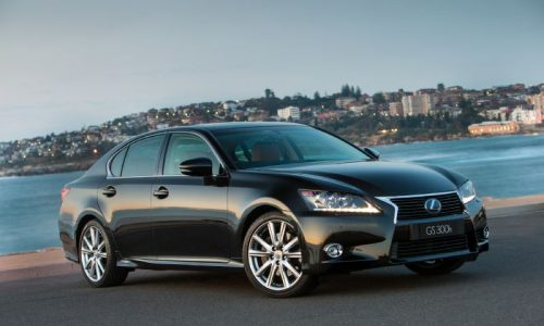 2014 Lexus GS adds 300h variant, 8-speed auto for 350