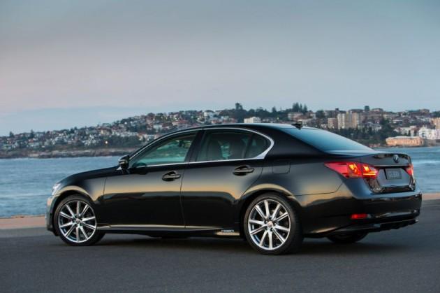 2014 Lexus GS 300h Sports Luxury-rear