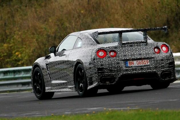 2014 Nissan GT-R Nismo prototype-rear
