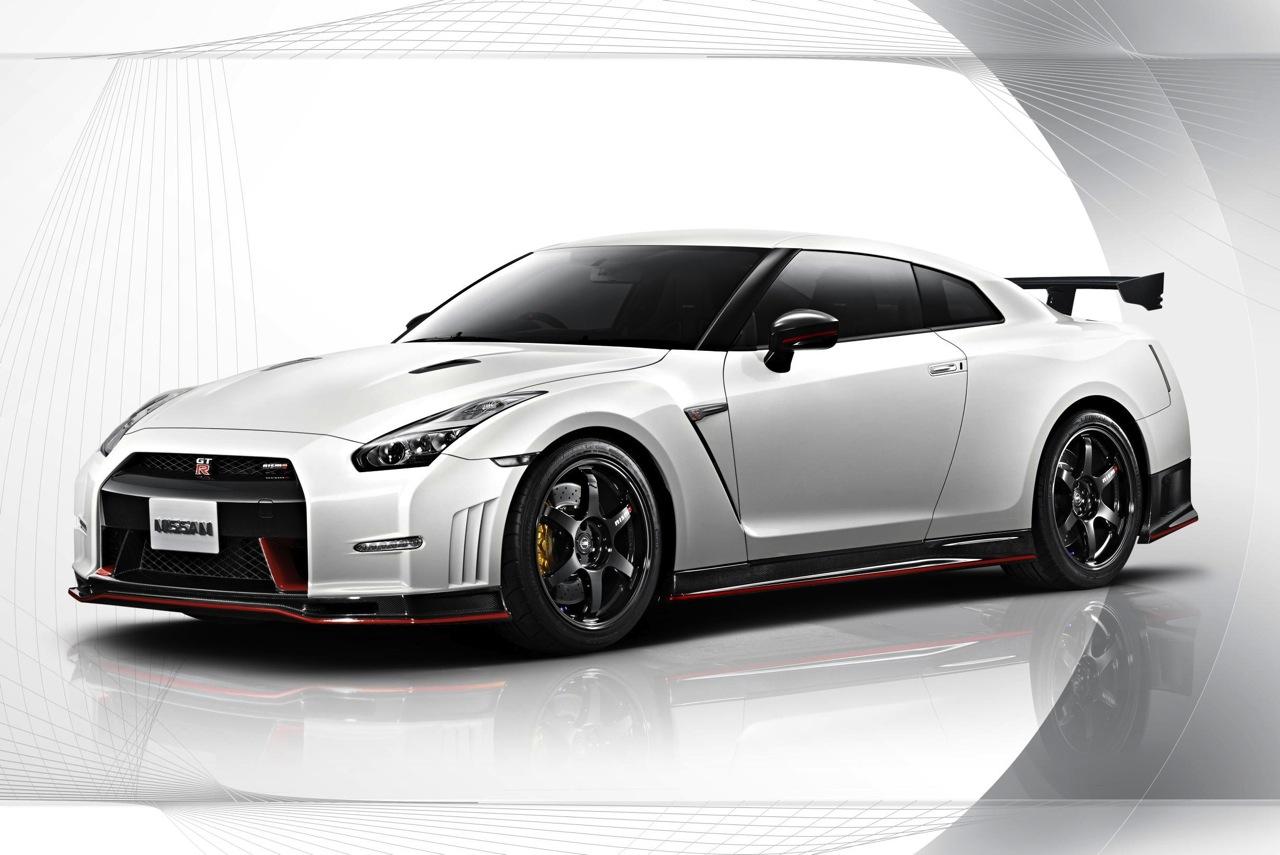 2014 Nissan GT R Nismo White
