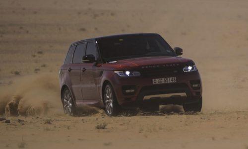 Range Rover Sport sets record for 'The Empty Quarter' trek
