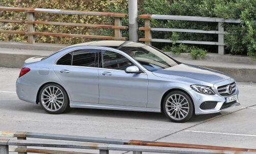 New 2014-2015 Mercedes-Benz C-Class spotted