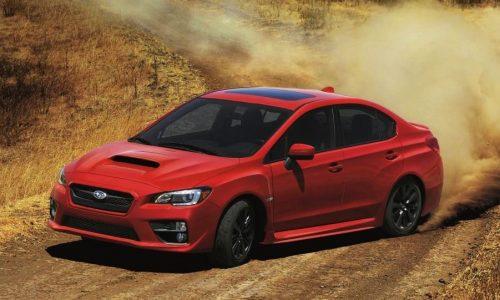 2015 Subaru WRX unveiled at LA Auto Show