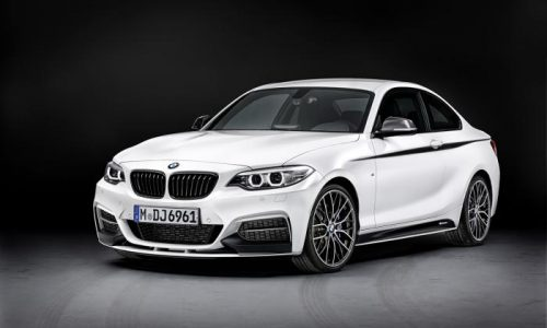 BMW 2 Series M Performance options revealed